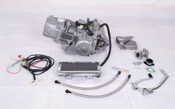 Zongshen 190ccm Motor komplett mit Ölkühler und Kabelbaum für P ...